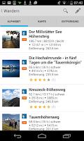Screenshot of Kärnten Maps