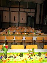 Photo: Yöllinen ruokailu Miratalossa - Nattlig måltid i Mirahuset