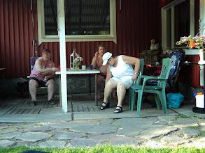 Photo: Marja, Heikki och Sinikka.