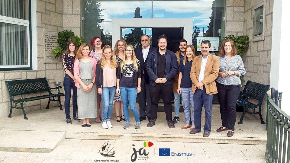 Obra Kolping Portugal lidera projeto que traz até Lamego jovens de cinco países