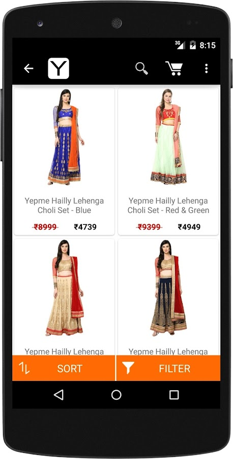 Apps to shop online