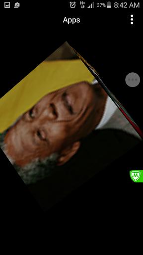 Nelson Mandela live wallpaper
