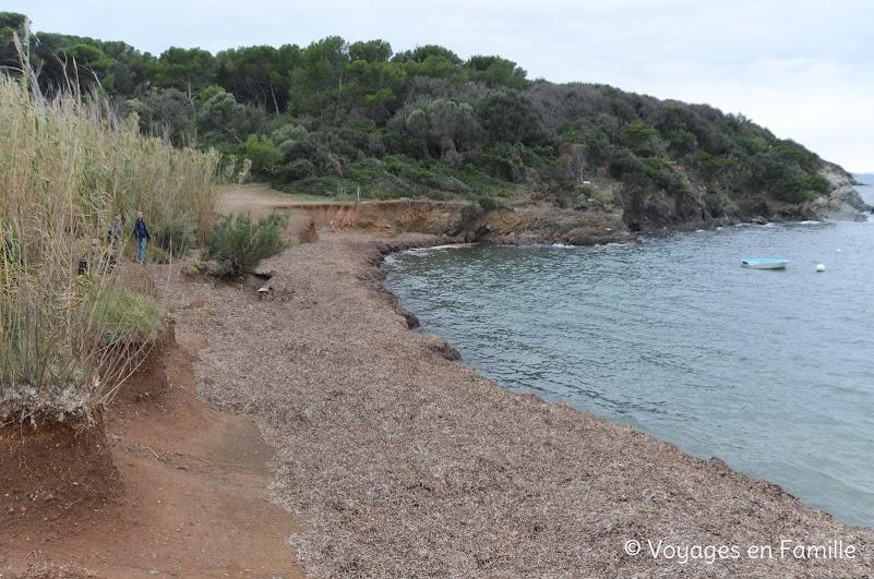 Presqu'ile de Giens - plage Madrague