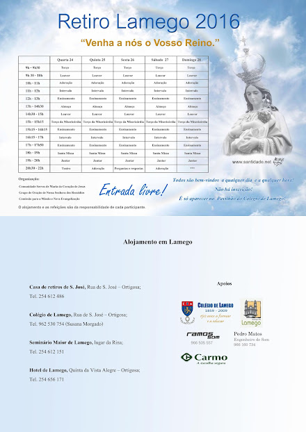 Retiro Lamego 2016 - 24 a 28 de agosto