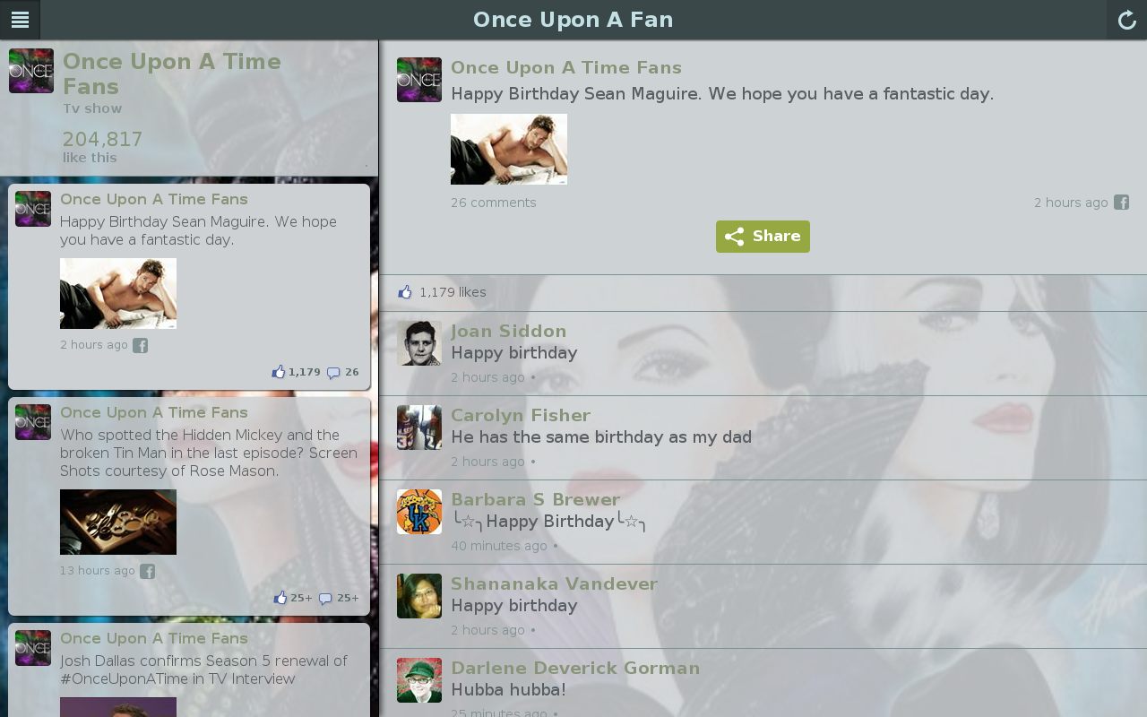 Once Upon Fan - screenshot