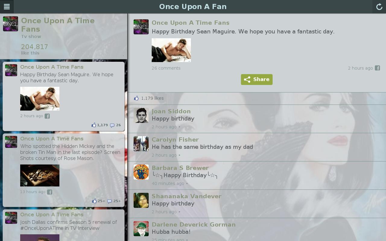 Once Upon Fan- screenshot