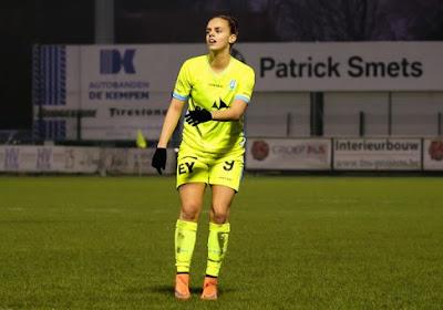 Einde seizoen voor aanvalster KAA Gent Ladies