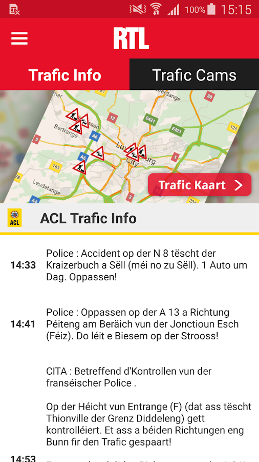 RTL.lu- screenshot