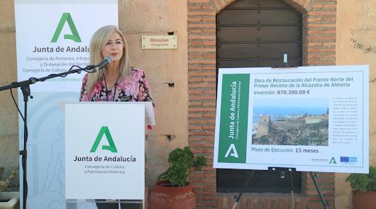 Luz verde a la restauración del frente norte de la Alcazaba trece años después