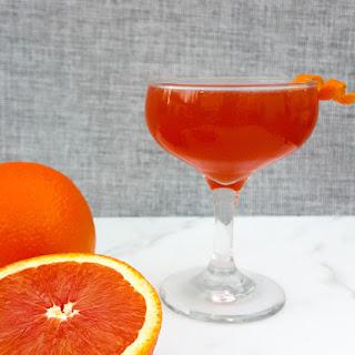 Winter Orange Spice Cocktail.