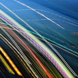 by Gerard Hildebrandt - Abstract Light Painting