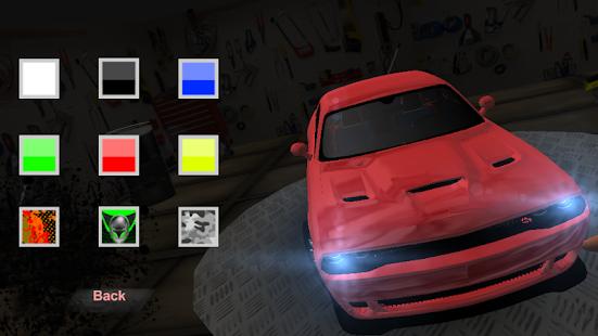Camaro Driving Simulator - náhled