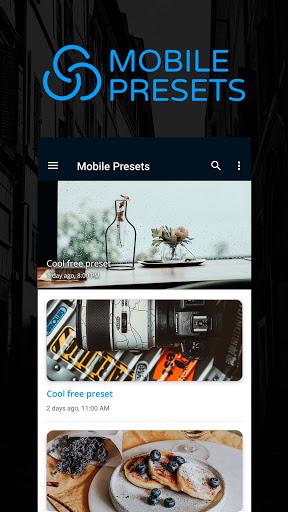 Preseters - Free Presets for Lightroom 2.7 screenshots 1