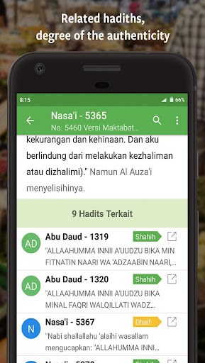 Ensiklopedi Hadits - Muslim guidance after Alquran  screenshots 3