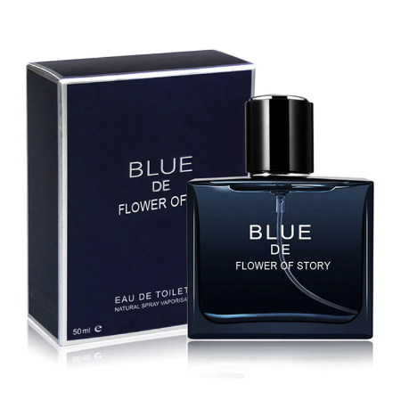 FREE BLUE De Flower Story Fragrance Sample