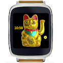 Lucky Cat Watch Face Square icon