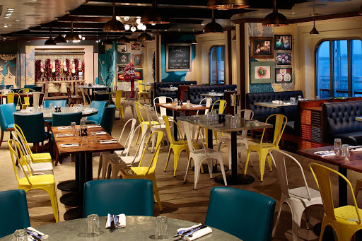Anthem-of-the-Seas-Jamies-Italian - Jamie's Italian aboard Anthem of the Seas features rustic, homemade favorites in an upscale venue overseen by celebrity chef Jamie Oliver.