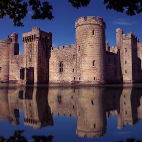 Bodiam Castle by Anz Defensor - Buildings & Architecture Public & Historical ( history, castle, architecture, place, historic )
