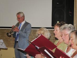 Photo: Jan van de Velde, trompet.