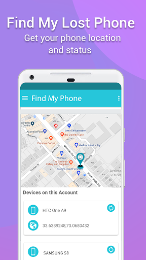 Find My Phone Android: Lost Phone Tracker 1.4.9 screenshots 2
