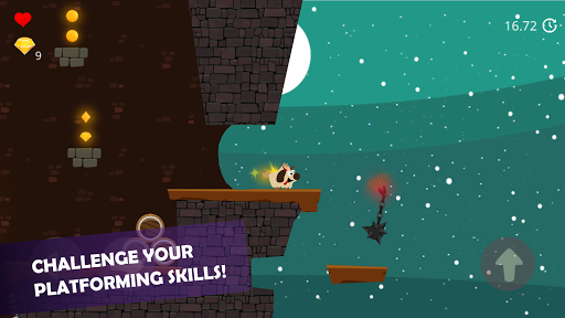 Doge and the Lost Kitten - 2D Platform Game apkmr screenshots 14