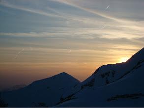 Photo: Sonnenuntergang am Nebelhorn