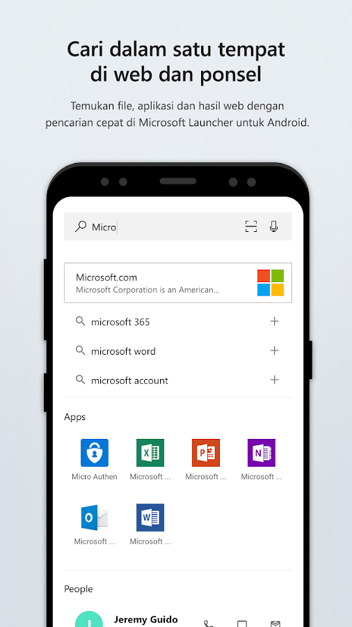 Microsoft Launcher- screenshot