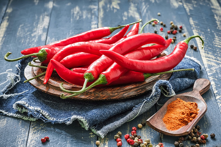 The heat of chillies is measured in Scoville Heat Units (SHU); a Jalapeno can score up to 8,000 SHU, while the Carolina Reaper averages at 1,641,183 SHU.
