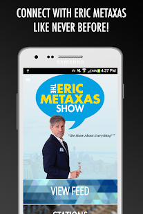 The Eric Metaxas Show- screenshot thumbnail