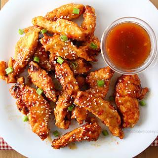 General Tso's Sweet Chili Chicken Strips