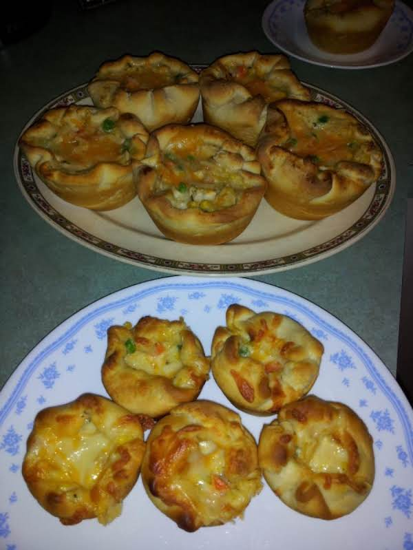 Chicken Pot Pie Cupcakes Recipe