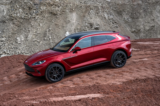 Aston Martin SUV brings up the rear in charge of new models