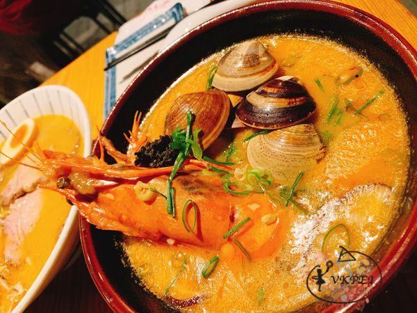中壢美食。織田信長-新鮮的好味道,吃得到滿滿鮮甜味的粥,濃郁的讓人一口接一口