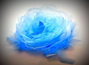 Photo: Цветы из ткани. Восхитительно-воздушный...