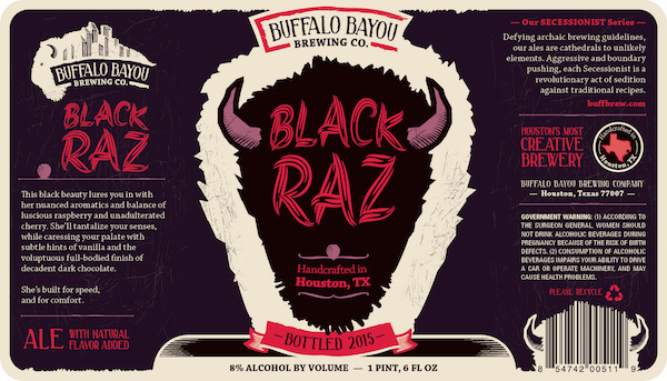 Logo of Buffalo Bayou Black Raz