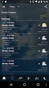 Transparent clock & weather Screenshot 3