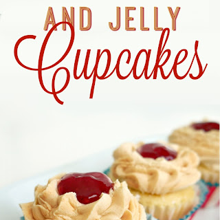 Peanut Butter and Jelly Cupcakes