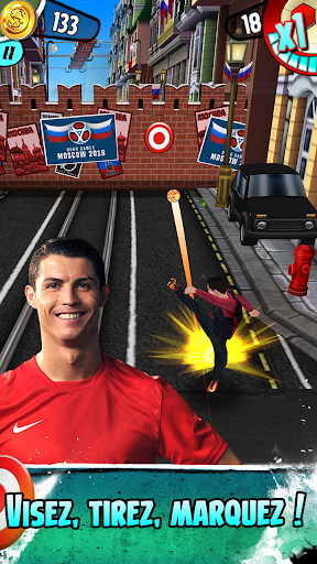 Cristiano Ronaldo: Kick'n'Run u2013 Football Runner  captures d'u00e9cran 2