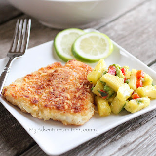 Panko and Parmesan-Crusted Swai