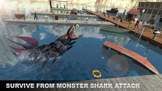 Underwater Megalodon Shark Sniper Hunter - náhled