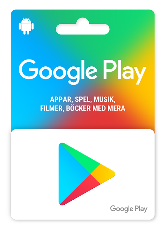Presentkort på Google Play