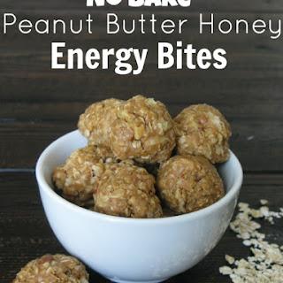 Peanut Butter Honey Energy Bites