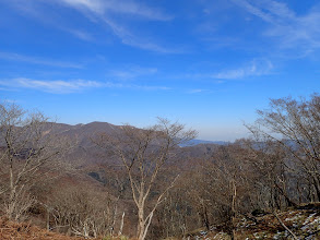 藤原岳が遠く