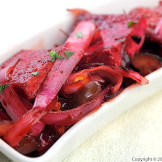 Vegetarian Char Siu Tofu
