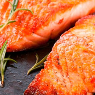 Grilled Salmon with Zest