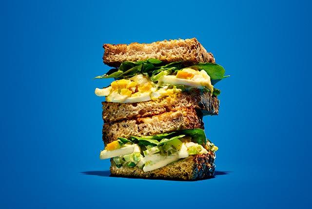 Favorite Egg Salad Sandwich Recipe