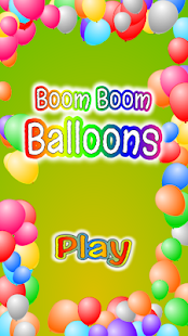 Boom Boom Balloons - náhled