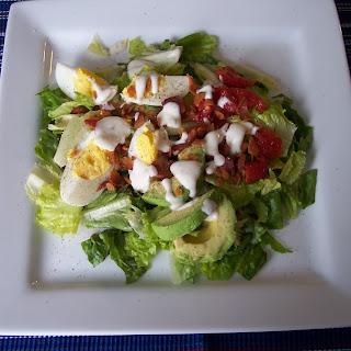 BLT, Egg and Avocado Salad.