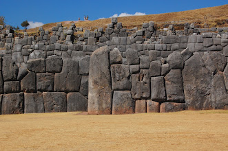 "Photo: Tour guides are fond of telling tourists that Saqsaywaman is prounced ""sexy woman."" Check out this stonework. Some of these stones are HUGE."