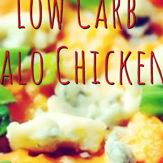 Low Carb Buffalo Chicken Dip.